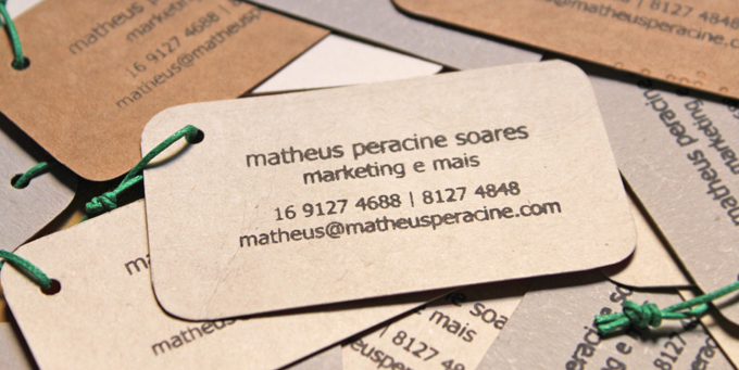 cartões de visita matheus peracine